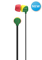 SKULLCANDY Jib In-Ear Headphones rasta