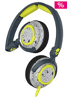 Lowrider On-Ear W/Mic 1 dark gray/light gray/hot lime