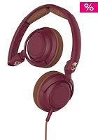 Lowrider On-Ear W/Mic 1 maroon/brown/copper