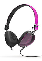 SKULLCANDY Navigator Headphones With Mic hot pink/black/black