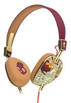 SKULLCANDY Navigator On-Ear W/Mic 3 Headphones floral/burgundy/rose gold