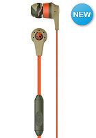 SKULLCANDY Riot In-Ear W/Mic 1 Headphones camo/orange/slate
