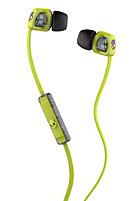 SKULLCANDY Smokin Bud 2 Headphones With Mic hot lime purple purple