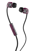 SKULLCANDY Smokin Bud 2 Headphones With Mic plum black black