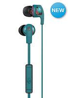 SKULLCANDY Smokin Bud 2 In-Ear W/Mic 1 Headphones 8 bit granny floral/dark gray/teal