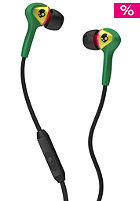Smokin Buds Mic1 Headphones rasta w/mic