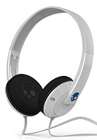 SKULLCANDY Uprock Headphones white/blue w/mic