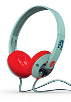 SKULLCANDY Uprock Headphones With Mic paul frank/turquoise/red