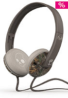 SKULLCANDY Uprock Headphones With Mic real tree dark tan tan