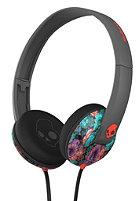 SKULLCANDY Uprock On-Ear Headphones 8 bit granny floral/black/red