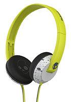 SKULLCANDY Uprock On-Ear Headphones hot lime/light gray/dark gray