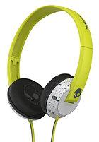 SKULLCANDY Uprock On-Ear W/Mic 1 Headphones hot lime/light gray/dark gray