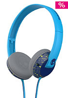 Uprock On-Ear W/Mic 1 Headphones navy/hot lime/hot blue