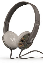 SKULLCANDY Uprock On-Ear W/Mic 1 Headphones real tree dark tan tan