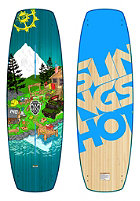 SLINGSHOT Terrain 2015 Wakeboard 140cm multicolor
