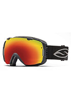 SMITH OPTICS I/O Goggle Black red sol-x mirror/blue sensor mirror