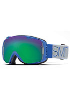 SMITH OPTICS I/O Goggle Cobalt Block green sol-x mirror/red sensor mirror
