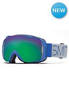 SMITH OPTICS I/O Goggle Cobalt Block green sol-x mirror/red sensor mirror