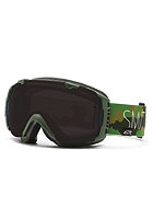 SMITH OPTICS I/O SPH Id Trilaboration Goggle blackout/red sen. mirror
