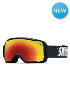 SMITH OPTICS Kids Grom Goggle Black red sol-x mirror