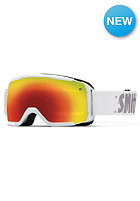 SMITH OPTICS Kids Grom Goggle White red sol-x mirror
