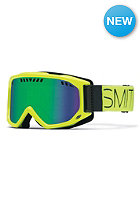 SMITH OPTICS Scope Pro Goggle Acid Block green sol-x mirror