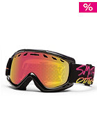 SMITH OPTICS Sentry REG Stay Rad Goggle red sol-x mirror/rose cop.