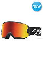 SMITH OPTICS Squad Goggle Black red sol-x mirror/8s-yellow
