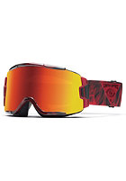 SMITH OPTICS Squad Goggle Fire Insomniac red sol-x mirror/ 8s-yellow