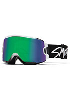SMITH OPTICS Squad Goggle White gree sol-x mirror/8s-yellow
