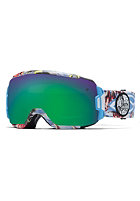 SMITH OPTICS Vice Goggle Blue Burnout green sol-x mirror