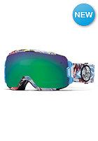 SMITH OPTICS Vice Goggle Blue Burnout green sol-x mirror