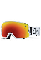 SMITH OPTICS Vice Goggle White Block red sol-x mirror