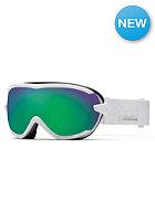 SMITH OPTICS Virtue sph Goggle White Prism green sol-x mirror