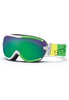 SMITH OPTICS Virtue SPH Neon Blitz Goggle green sol-x mirror