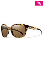 SMITH OPTICS Womens Jetset Sunglasses vin tortoise