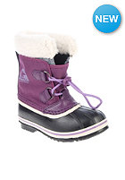 SOREL Kids Yoot Pac Nylon gloxinia, black