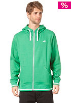 SORUZ Apparel Hooded Zip Sweat green