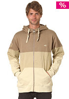 SO�RUZ Bristol Hooded Zip Sweat taupe