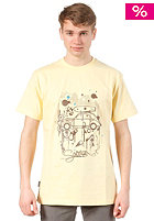 SO�RUZ Deuche S/S T-Shirt yellow