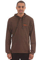 SO�RUZ Martok Hooded Sweat brown