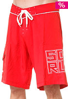 SO�RUZ Mid 80S Boardshort red
