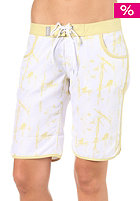 SO�RUZ Womens Tema Middle Boardshort white