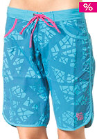 SO�RUZ Womens Tidal Middle Boardshort blue