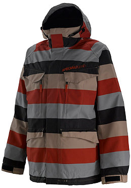 SPECIAL BLEND Circa Jacket 2011 big stripe red army