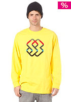 SPECIAL BLEND Cobbler L/S T-Shirt hello yellow