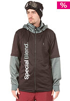 SPECIAL BLEND DBL Team Hooded Sweat blackout
