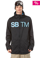 SPECIAL BLEND DBL Team Hooded Zip Fleece blackout