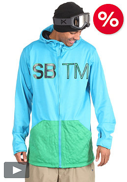 SPECIAL BLEND DBL Team Hooded Zip Fleece south beach