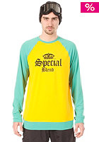 SPECIAL BLEND Dirty Jersey Shirt hydrate yellow